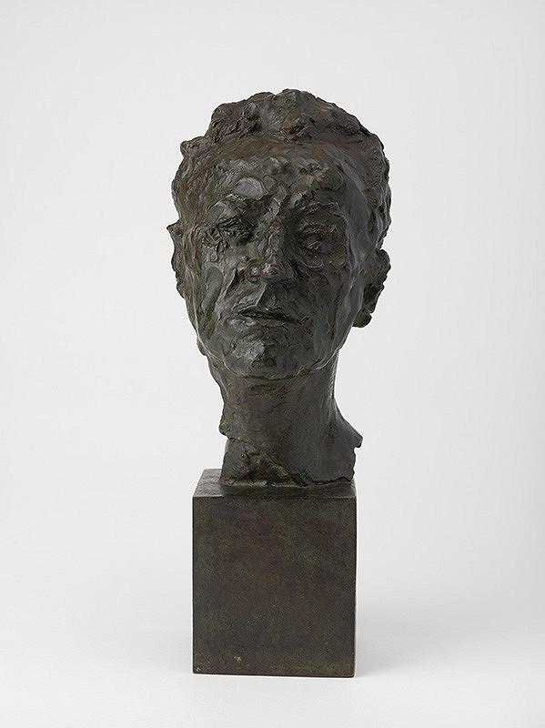 Jan Štursa - Štúdia k podobizni Eduarda Vojana