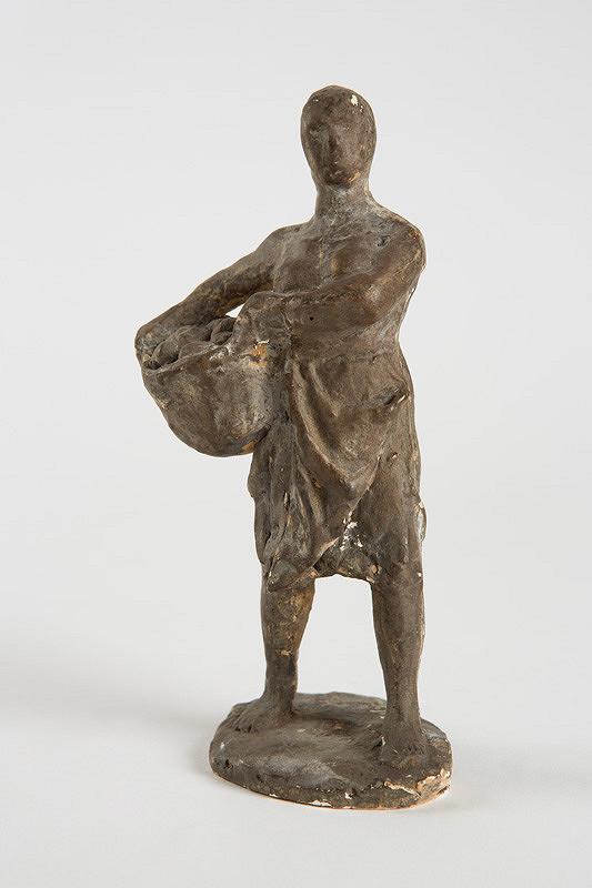 Rudolf Uher – Žena s košíkom