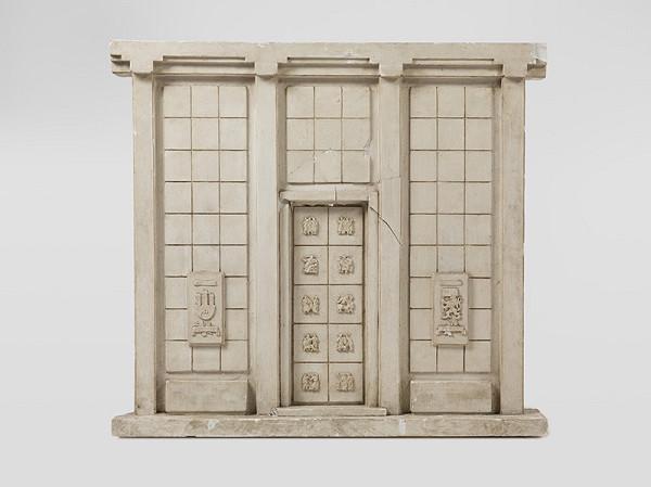 Rudolf Pribiš – Náčrt vonkajšej strany bronz.dverí pamätníka Sovietskej armády na Slavíne