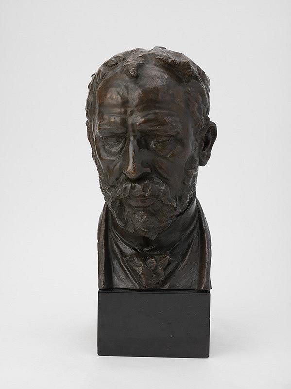 Josef Václav Myslbek - Autoportrét