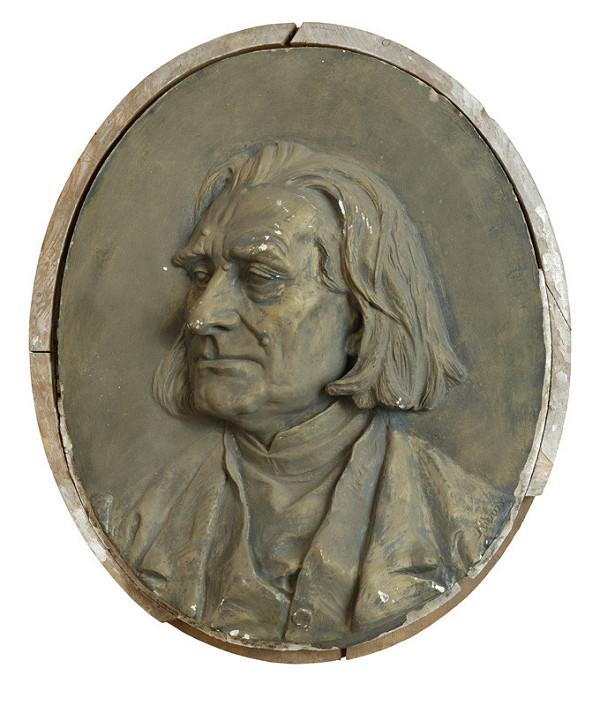 Ján Fadrusz – Podobizeň Franza Liszta
