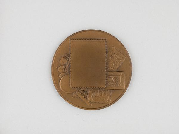 Andrej Peter – Medaila na pamäť 30.výročia čs.poštovej známky 1918-1948 - averz