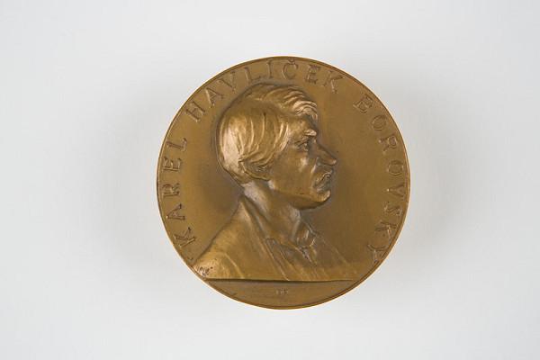 Andrej Peter - Medaila:Karel Havlíček Borovský 1938