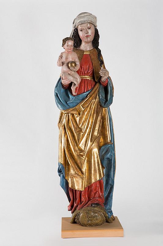 Neznámy juhonemecký sochár – Madona s Ježiškom