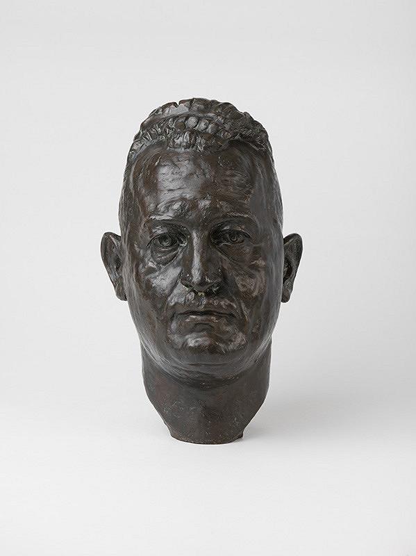 Ladislav Majerský - Štúdia mužskej hlavy