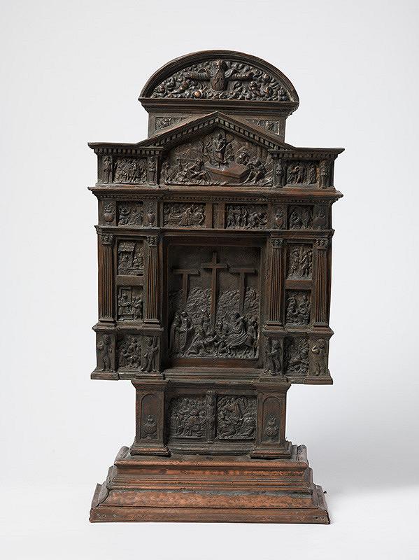 Západoeurópsky majster z 19. storočia –  Pašiový oltár