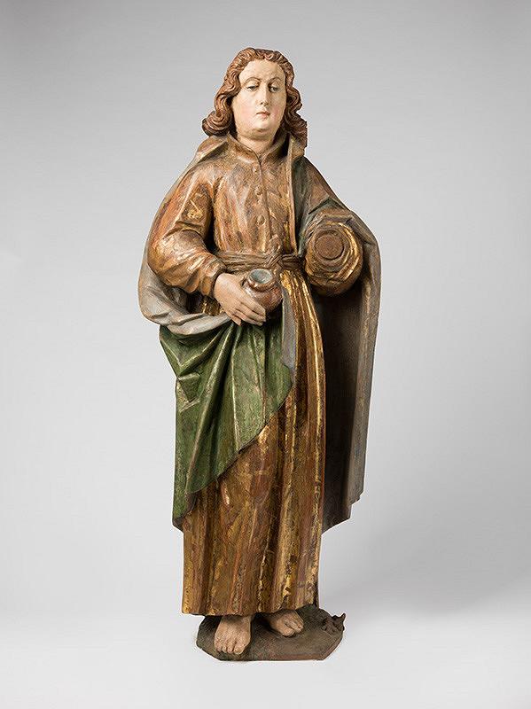 Slovenský rezbár zo 16. storočia, Neznámy rezbár - Svätý Ján evanjelista
