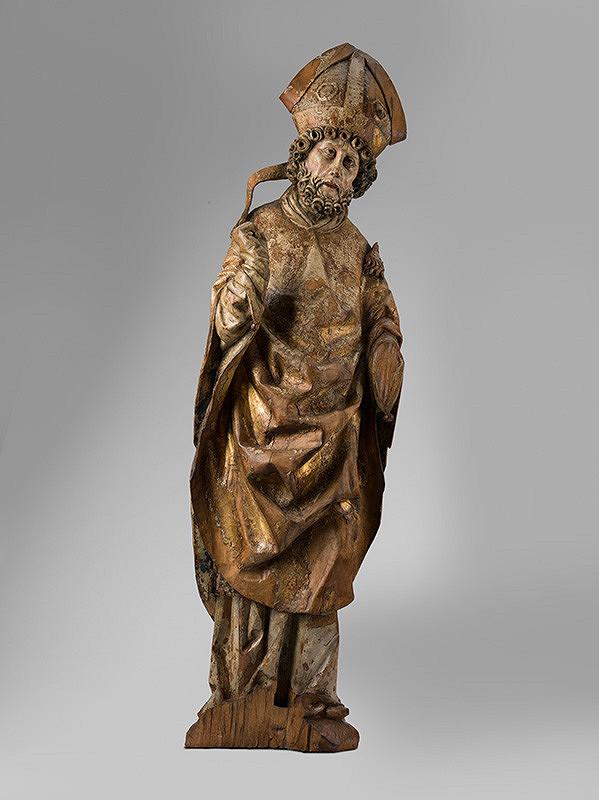 Spišský rezbár z konca 15. storočia, Spišský rezbár z prelomu 15. - 16. storočia – Svätý Mikuláš z neznámej spišskej lokality