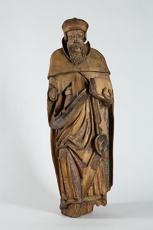 Slovenský rezbár zo začiatku 16. storočia – Svätec