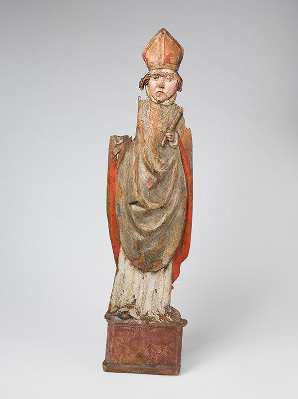 Slovenský rezbár zo začiatku 16. storočia – Svätý Biskup