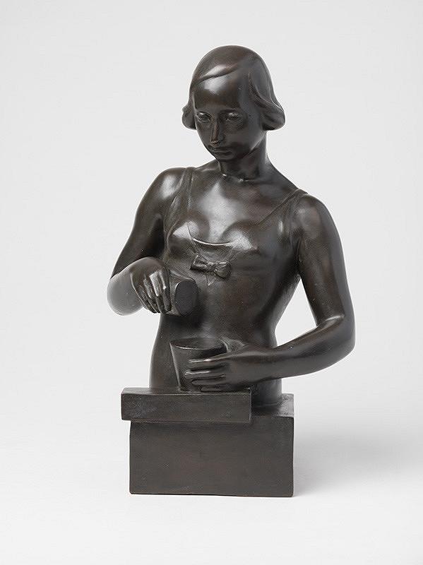 Fraňo Štefunko – Žena s nádobami