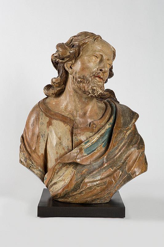 Slovenský sochár okolo 1730, Georg Raphael Donner - Poprsie Krista