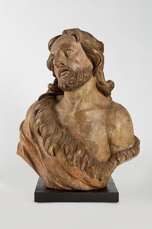 Slovenský sochár okolo 1730, Georg Raphael Donner - Poprsie svätého Jána Krstiteľa