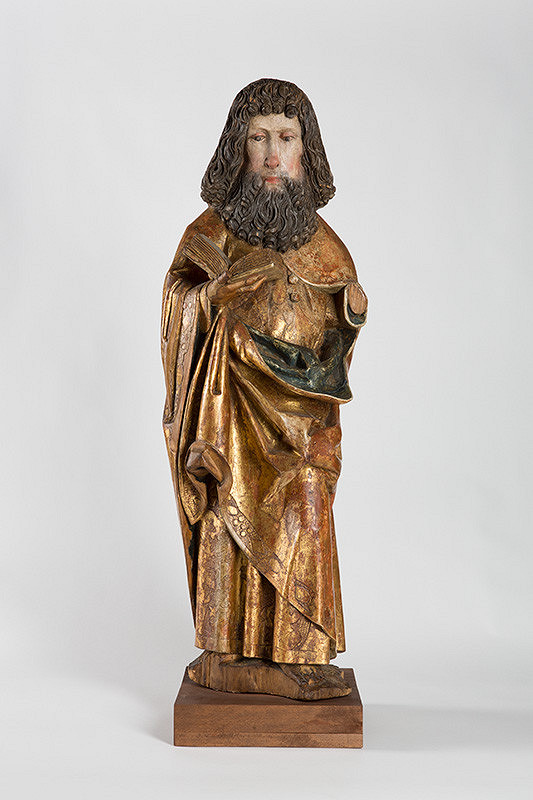 Slovenský rezbár zo začiatku 16. storočia – Apoštol s knihou