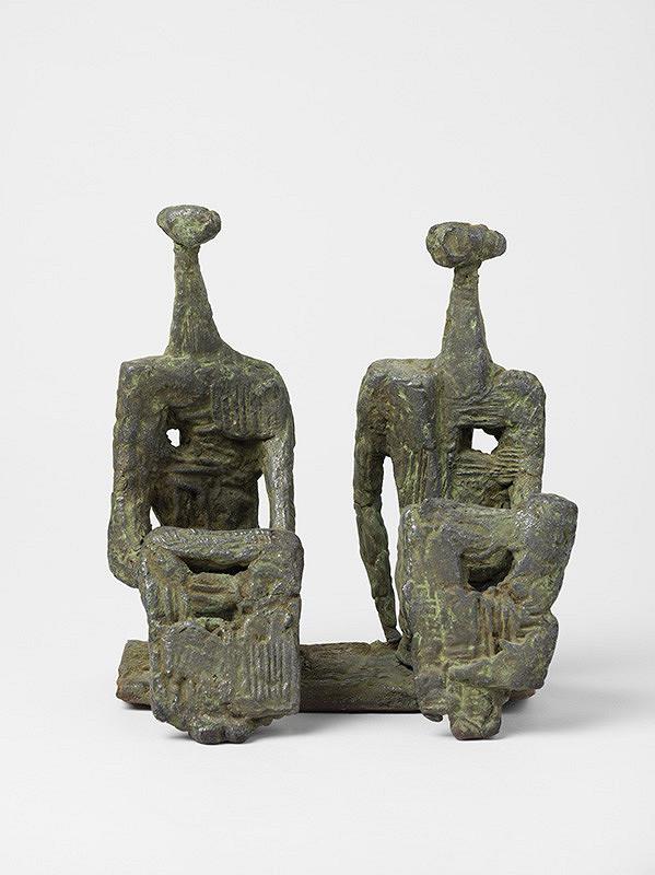 Anton Čutek – Dve sediace ženy