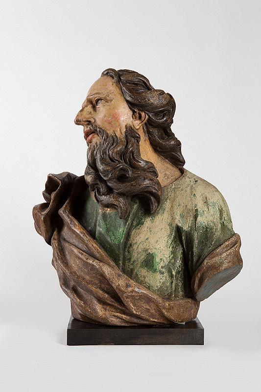 Slovenský sochár okolo 1730, Georg Raphael Donner - Hlava svätca