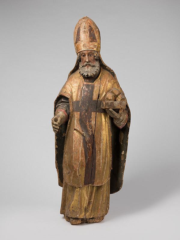 Slovenský rezbár zo 17. storočia, Neznámy rezbár – Svätý Mikuláš