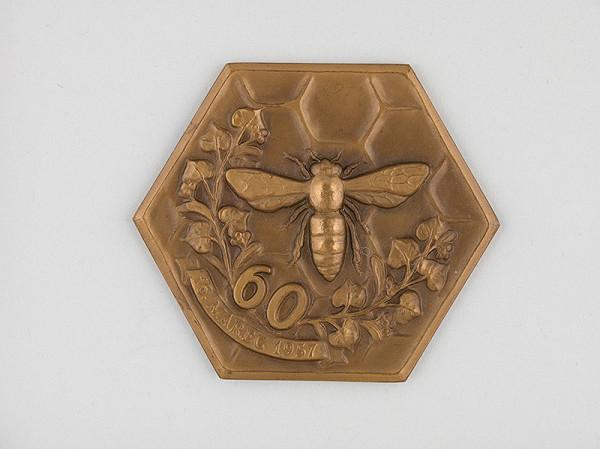 Andrej Peter - Medaila - Ústredie včelárskych združení na Slovensku