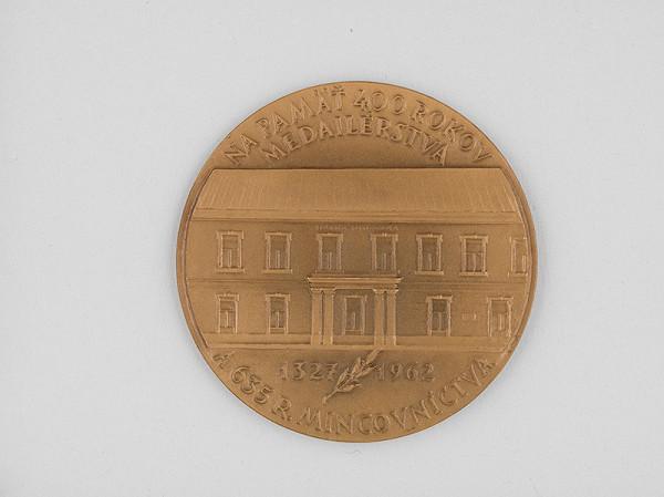 Andrej Peter - Medaila - Za záslužnú prácu Štátnej mincovne v Kremnici