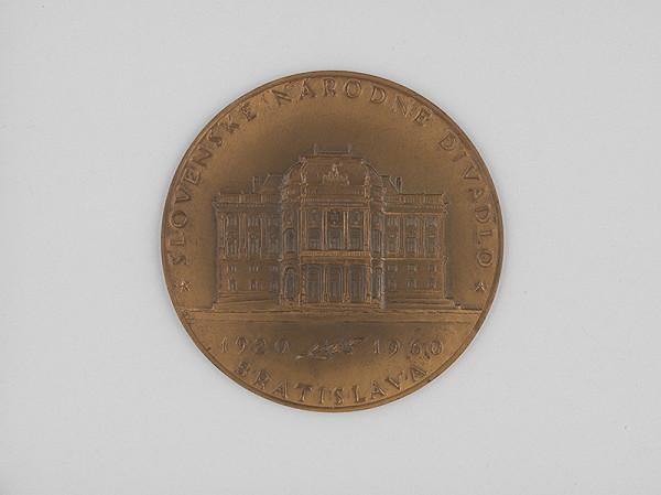 Andrej Peter - Medaila - Slovenské národné divadlo 1920-1960 Bratislava