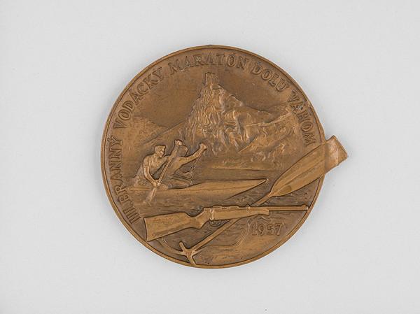 Andrej Peter – Medaila - III.branný vodácky martón dolu Váhom