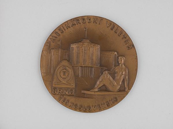 Andrej Peter - Medaila-Medzinárodný veltrh v Brne