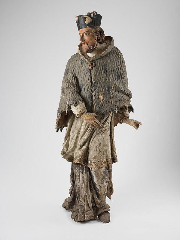 Slovenský rezbár z 18. storočia, Neznámy rezbár - Svätý Ján Nepomucký
