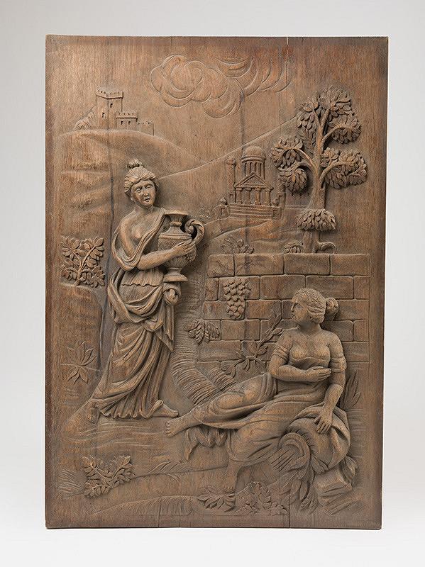 Stredoeurópsky rezbár z prelomu 18. - 19. storočia - Reliéfna figurálna výplň II.