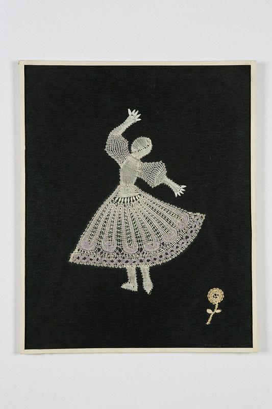 Elena Holéczyová – Dievča s fialovou sukňou