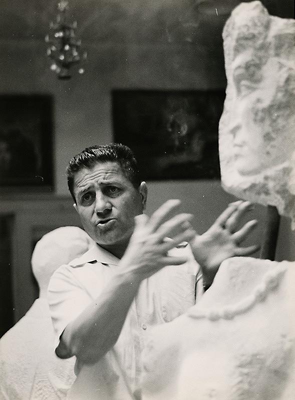Štefan Tamáš – Portrét sochára Jozefa Mazana