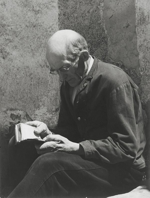 Štefan Tamáš - Čítajúci
