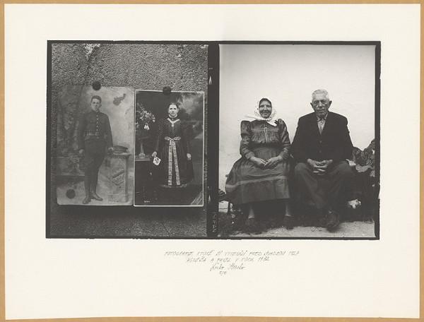 Ľubo Stacho - Fotografie, ktoré si vymenili pred svadbou. Agneša a Pavel