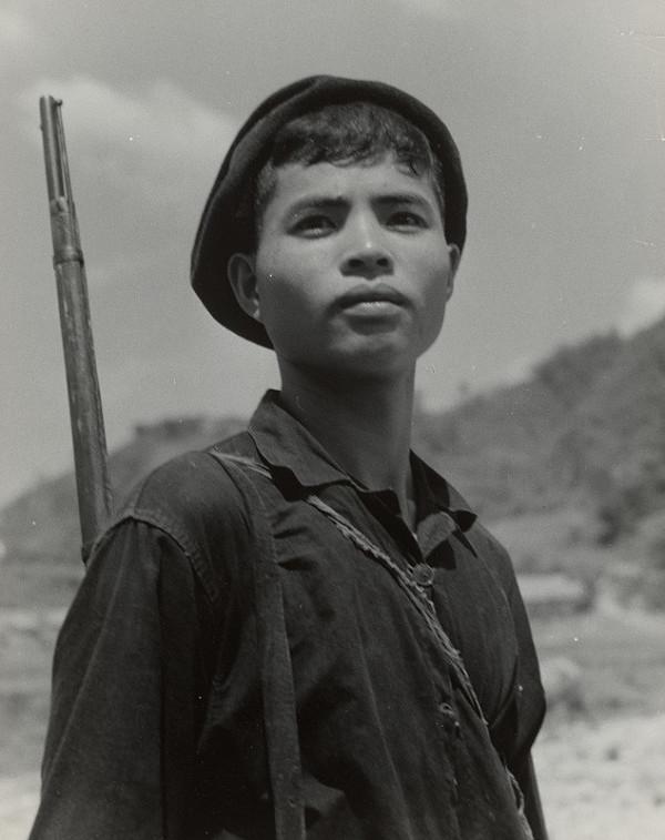 Ján Cifra – Vietnam - portréty. Mladý lovec