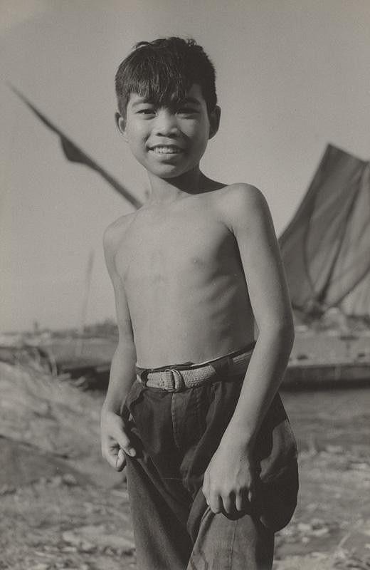 Ján Cifra – Vietnam - portréty. Chlapec