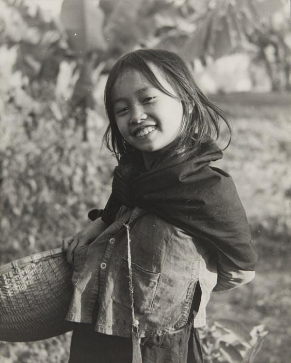 Ján Cifra - Vietnam - portréty. Dievčatko