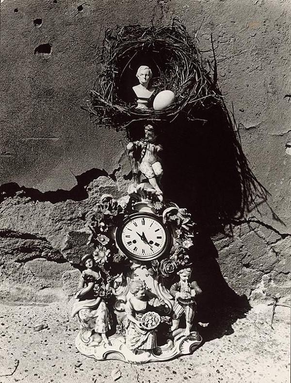 Pavol Breier - Zátišie s hodinami