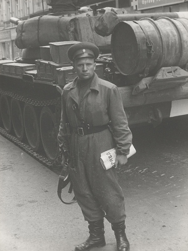 Pavol Hudec-Ahasver - 21. august 1968 – Praha