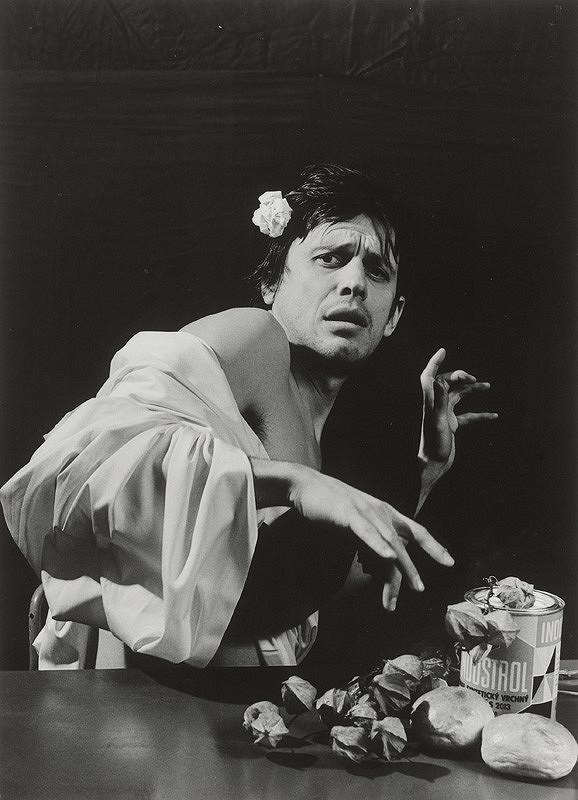 Vladimír Kordoš – Interpratácia obrazu Caravaggio - Chlapec uštipnutý škorpiónom