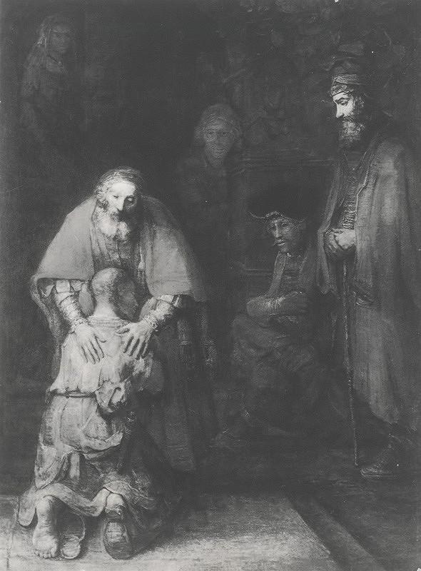 Vladimír Kordoš – Interpretácia obrazu Rembrandta Návrat strateného syna I.