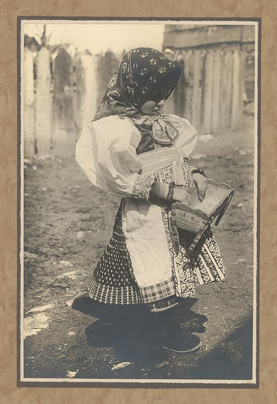 Karel Plicka - Děvče z Važce