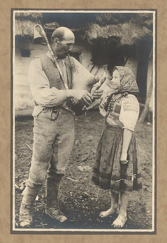 Karel Plicka – Gajdoš z Novohradských vrchů, 1928, Slovenská národná galéria