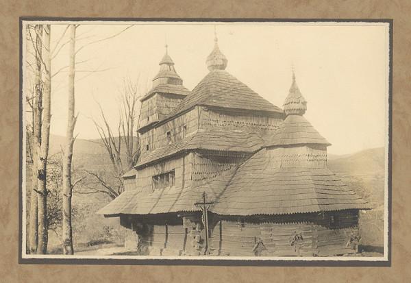 Karel Plicka - Rusínsky kostel