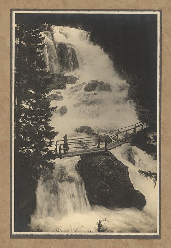 Karel Plicka - Velký vodopád - Tatry