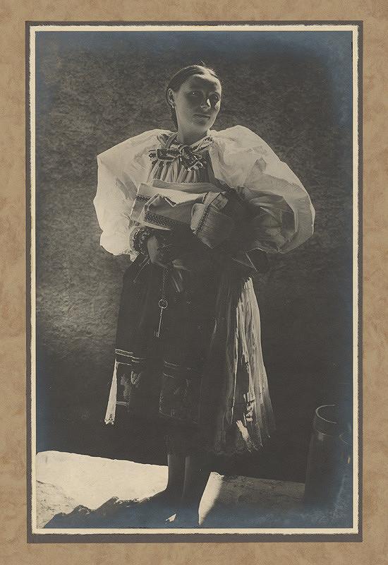 Karel Plicka - Žena z Važce - Liptov