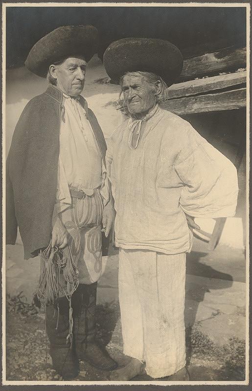 Karel Plicka – Starci z dolní Oravy, 1928, Slovenská národná galéria