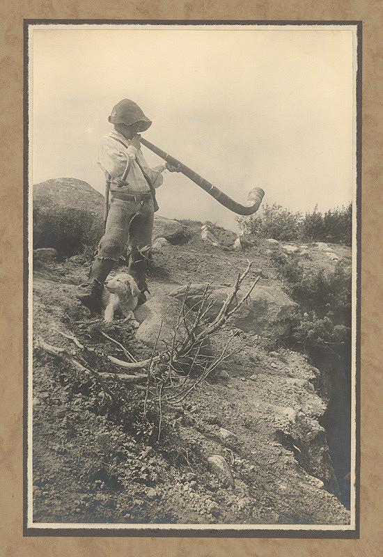 Karel Plicka – Pastýř zpod Tater, 1928, Slovenská národná galéria