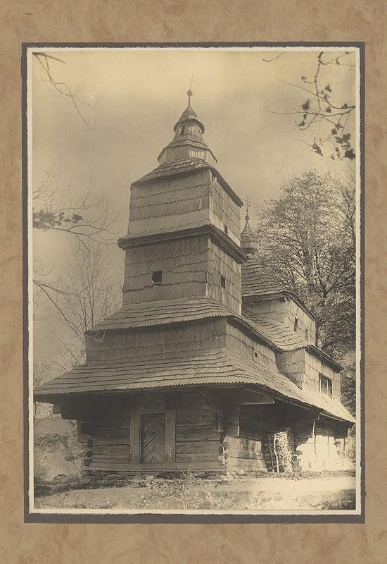 Karel Plicka – Dřevěná cerkev ze Zbuje