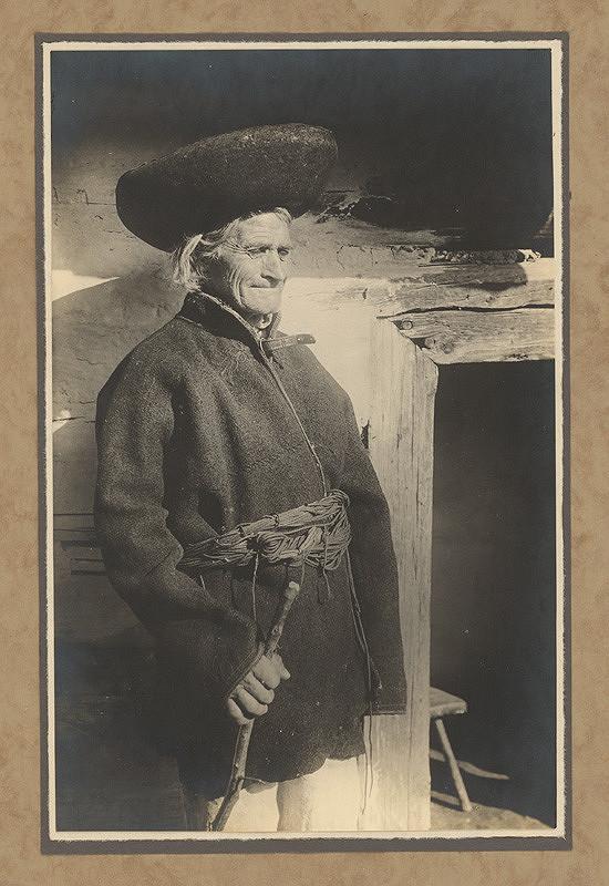 Karel Plicka – Stařec z dolní Oravy, 1928, Slovenská národná galéria