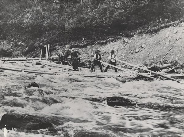 Sergej Protopopov - Pltníci na rieke Uh 2.