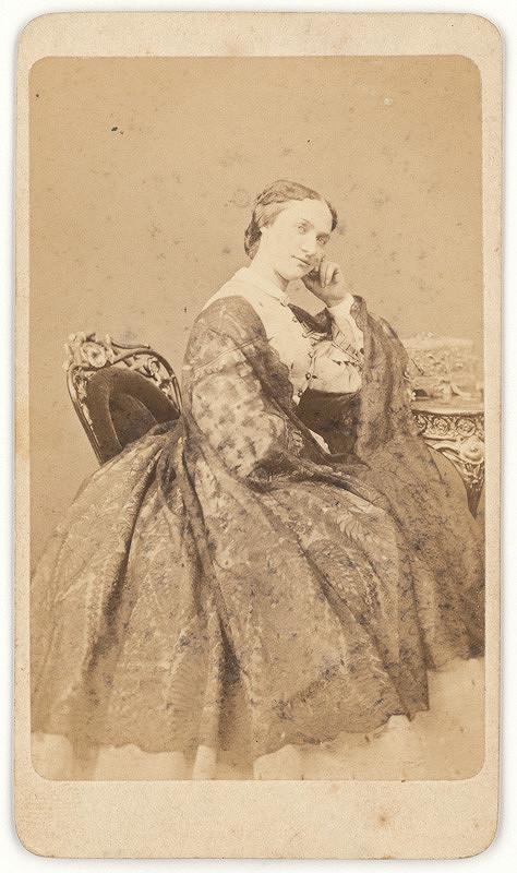 Eduard Kozič - Portrét sediacej dámy